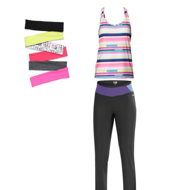 Sweet style workout outfit