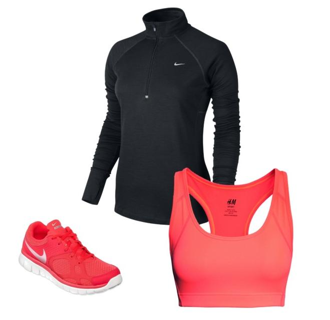 Chic Workout Outfit Nike H&M