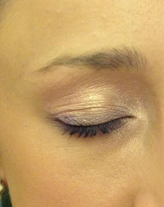 Up close with my eye makeup