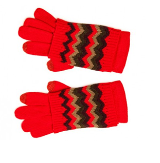 zig zag tech gloves