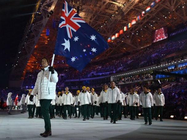 Austrailia Sochi Olympics Fashion