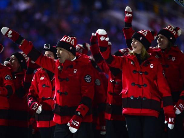 2014 Sochi Canada Fashion