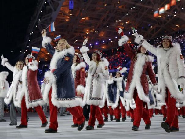 Russia Sochi Olympics Fashion 2014