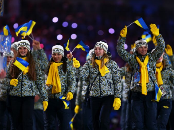 2014 Ukraine Winter Olympics Warmup
