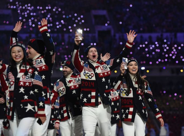 USA 2014 Sochi Olympics Fashion
